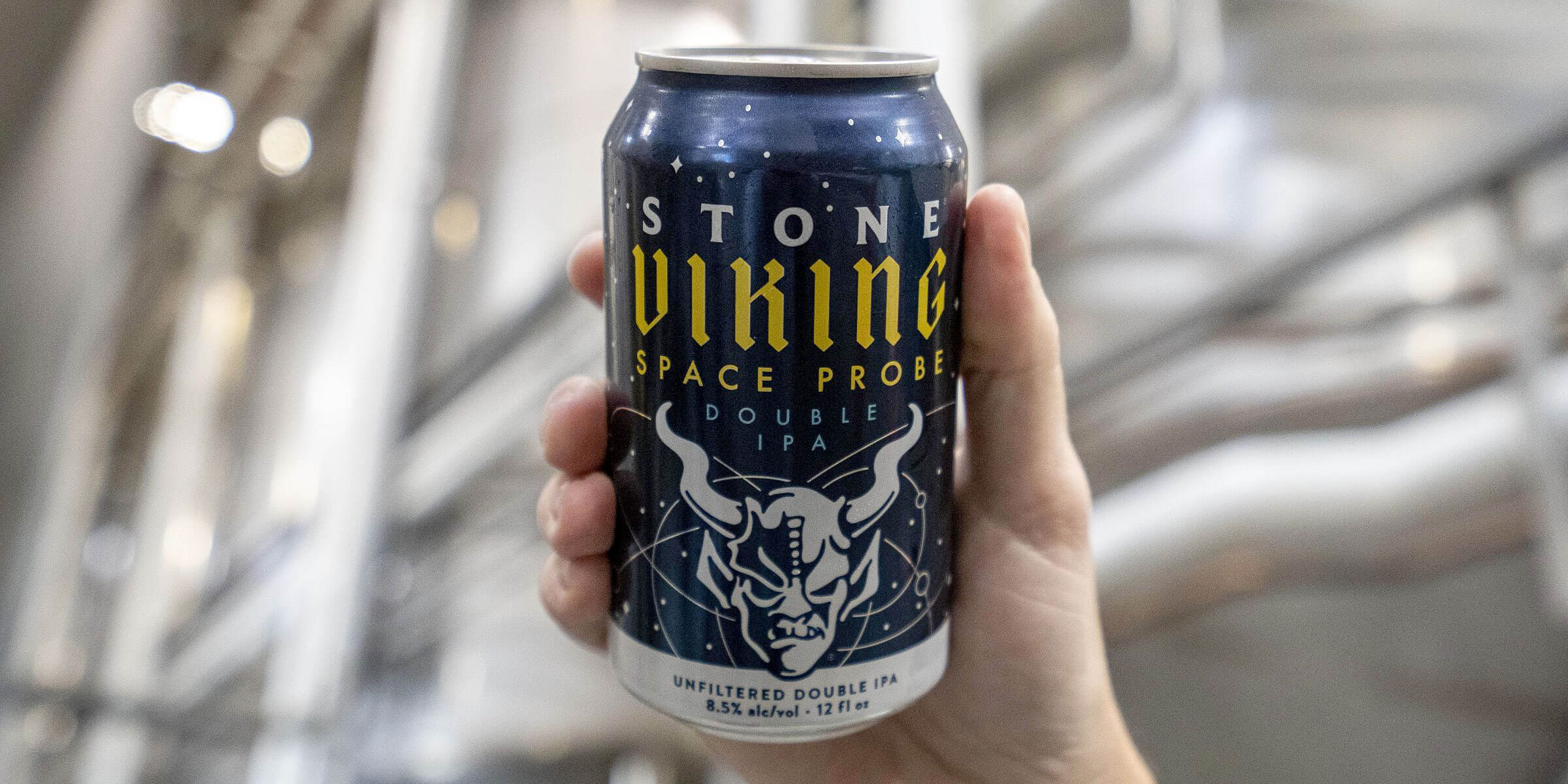 Stone Brewing launches Viking Space Probe Double IPA that boldly goes where no hazy brew has gone before with its combo of hops and Belgian Candi Sugar.