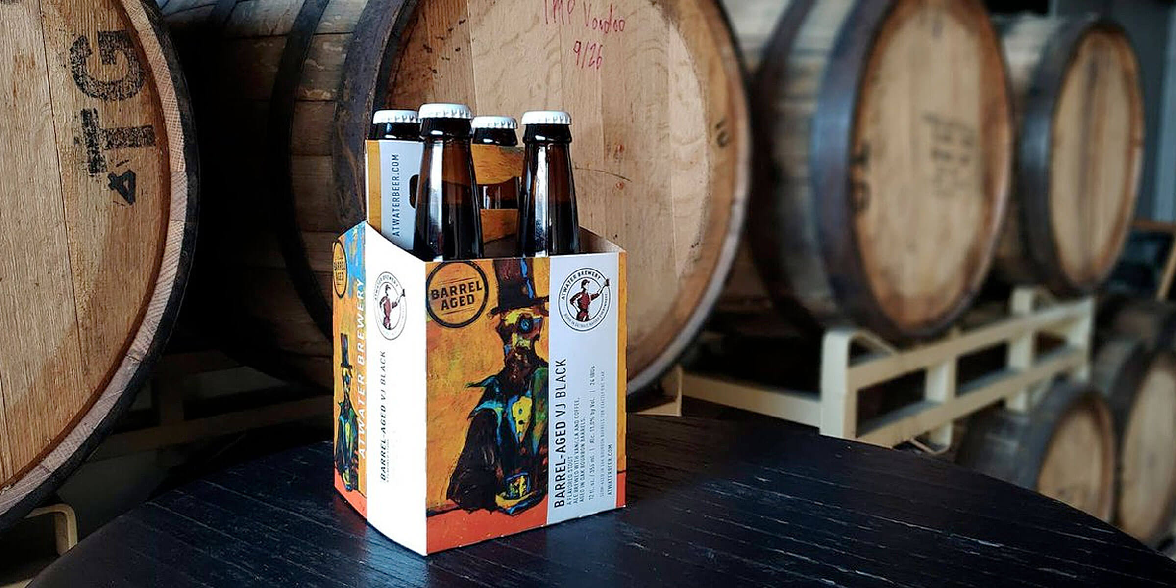Atwater Brewery is tapping its most successful aged beer, the 2020 Barrel-Aged VJ Black Imperial Stout at its Detroit, Grosse Point and Grand Rapids taprooms.