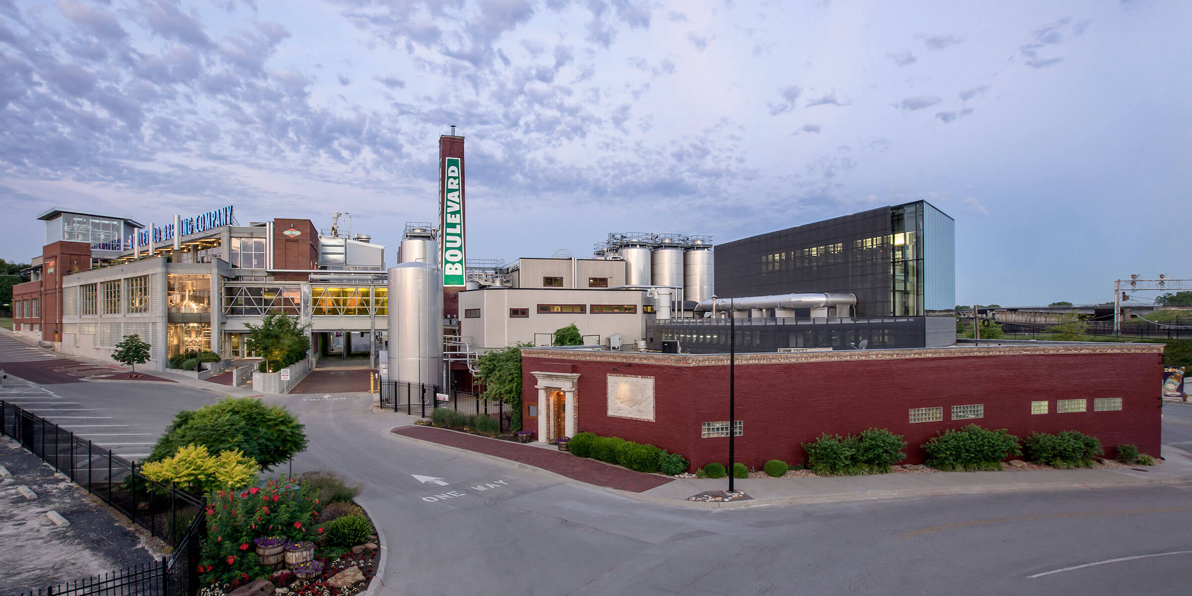 The production facility at Boulevard Brewing Co. in Kansas City, Missouri