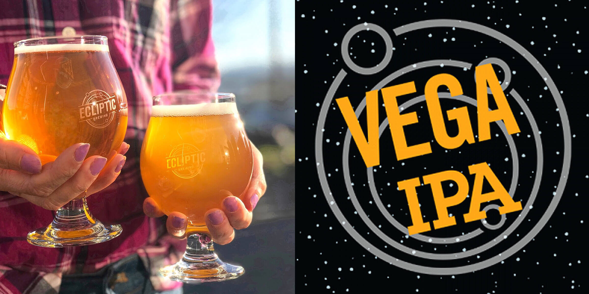 Ecliptic Brewing announced the launch of its Vega IPA Series in 16 oz. cans. Originally a draft only option, the brewery sees growth for the brand.