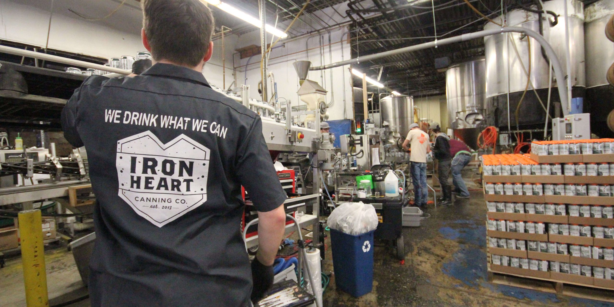 Iron Heart Canning at work