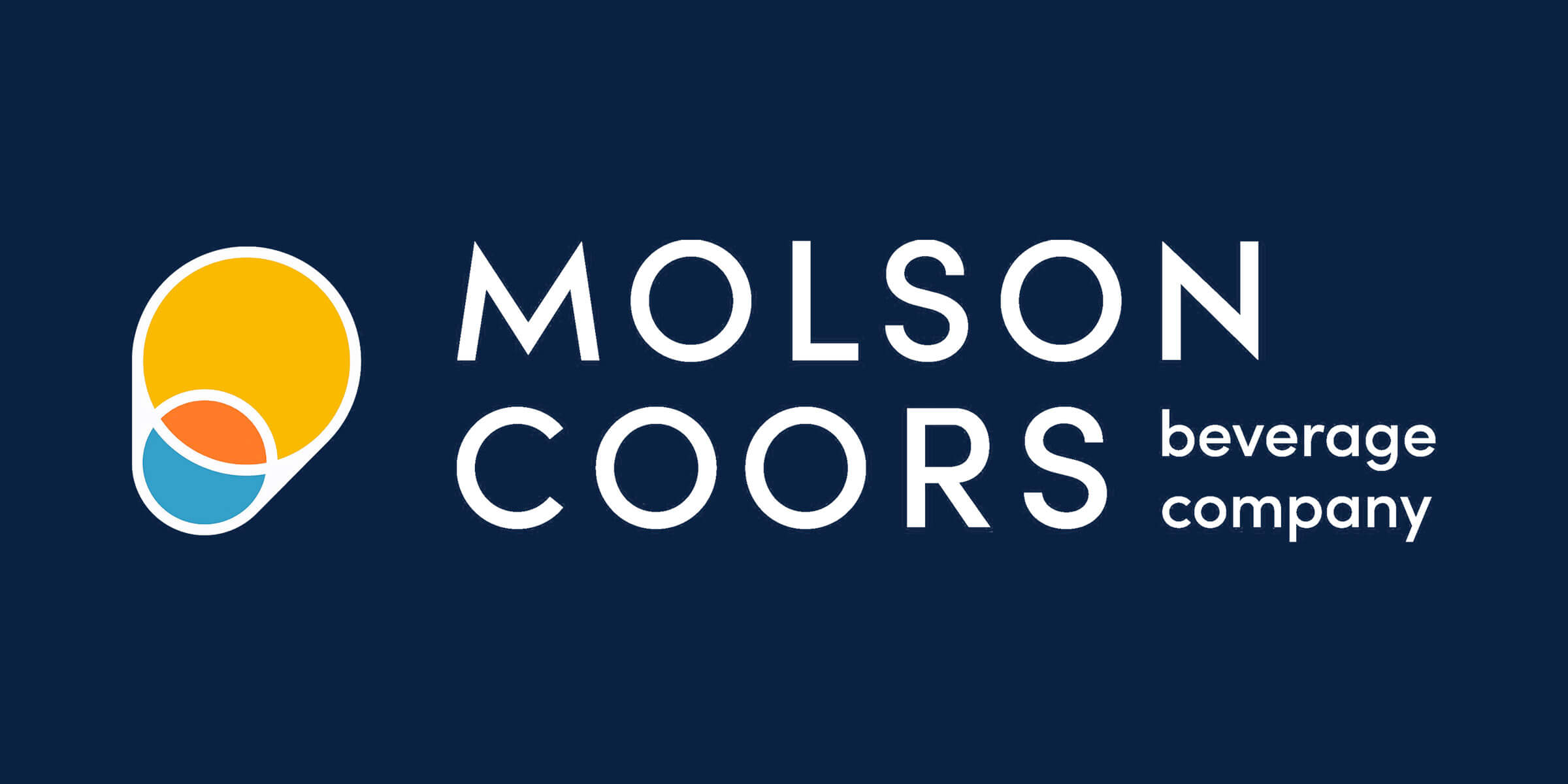 The new corporate identity for Molson Coors Beverage Company