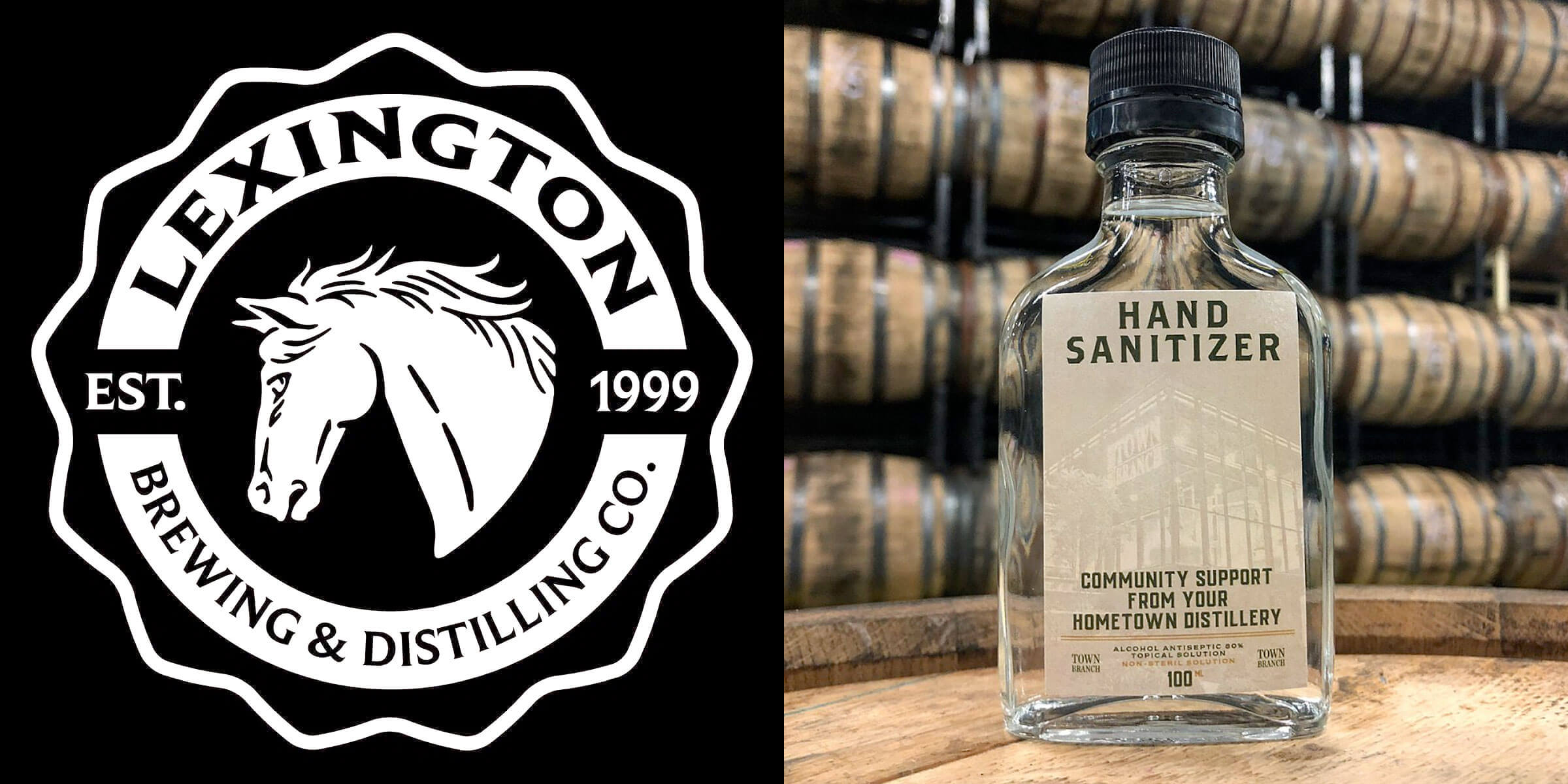 Lexington Brewing & Distilling Co. is using its alcohol supply to produce hand sanitizer and provide it free of charge for the Central Kentucky community.