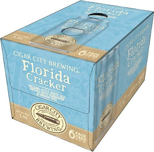 Packaging art for the Florida Cracker by Cigar City Brewing