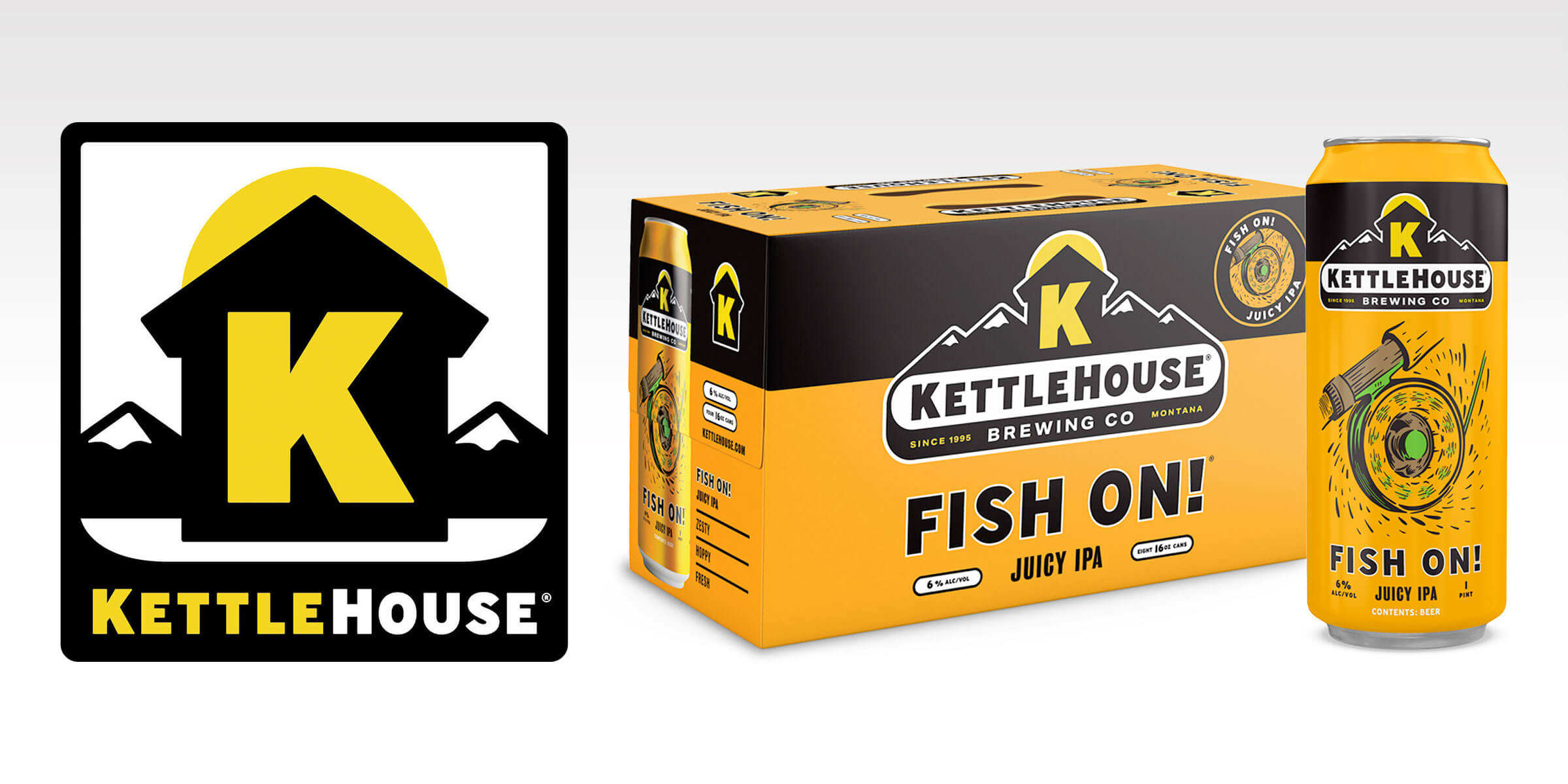 KettleHouse Brewing Co. is reeling in the Spring season with the release of Fish On!, a Juicy Montana Pale Ale, bursting with grape, pineapple, and tangelo.
