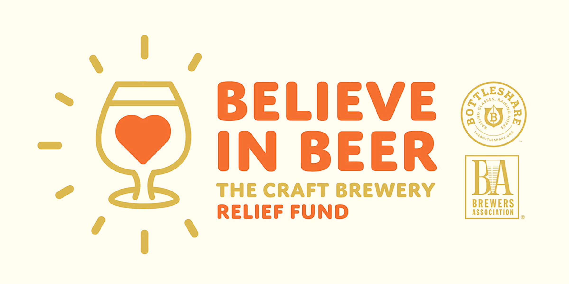 Brewers Association has partnered with Bottleshare to create the Believe in Beer Fund to support breweries and state brewers guilds impacted by COVID-19.
