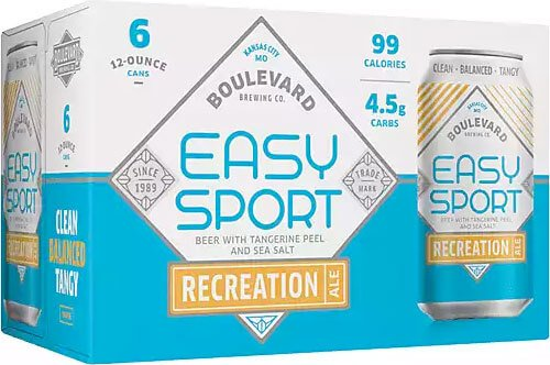 Packaging art for the Easy Sport by Boulevard Brewing Co.