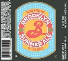 Label art for the Brooklyn Summer Ale by Brooklyn Brewery