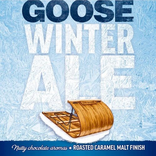 Label art for the Goose Island Winter Ale by Goose Island Beer Co.