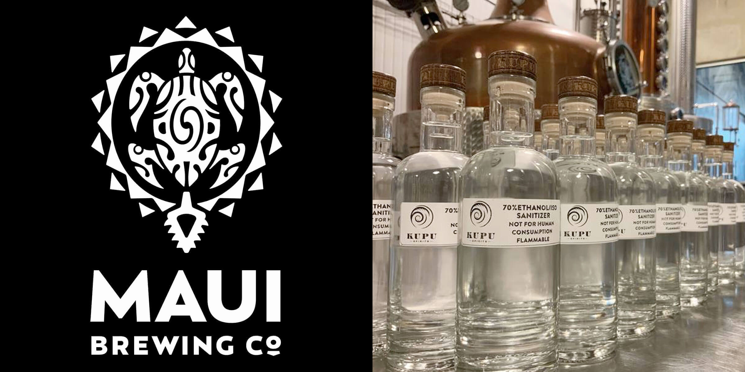 Maui Brewing Company is being investigated by the Maui County Liquor Control Commission for giving away the product with purchase to customers.