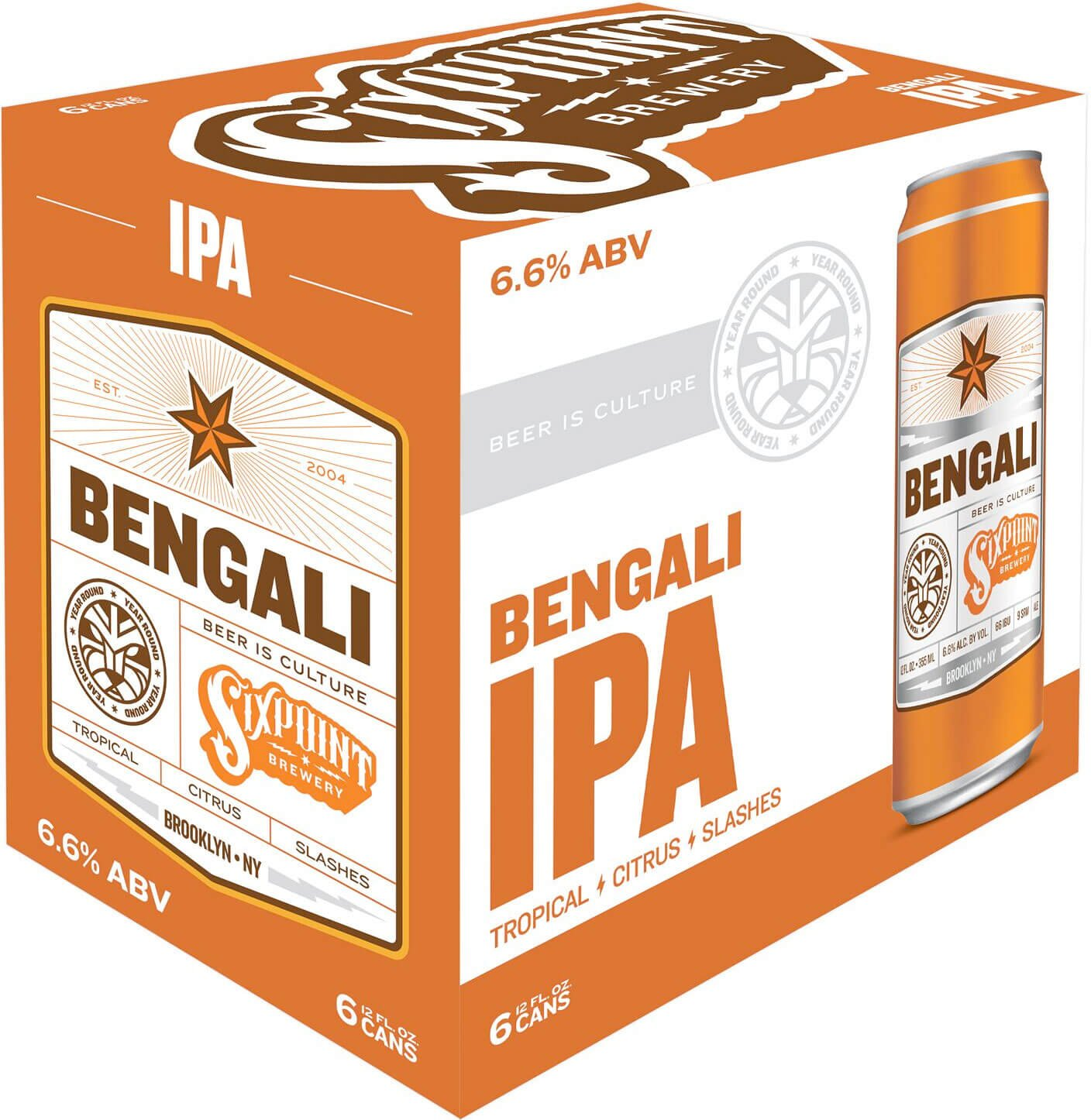 Packaging art for the Bengali by Sixpoint Brewery