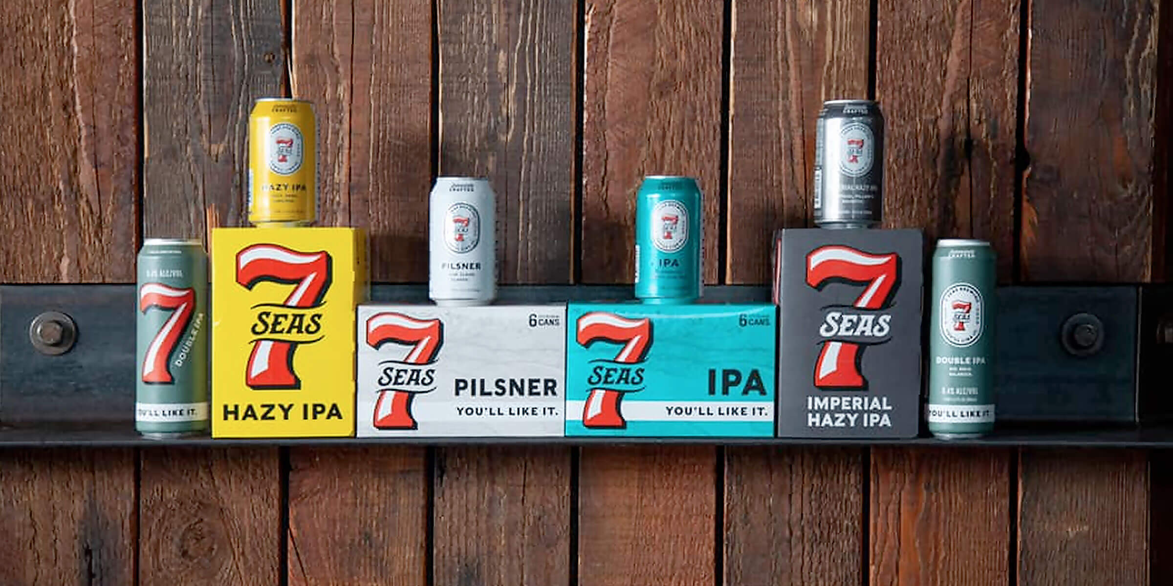 7 Seas Brewing unveiled updated branding and packaging in May 2020 after 10 years of independently crafting beer in the Pacific Northwest.