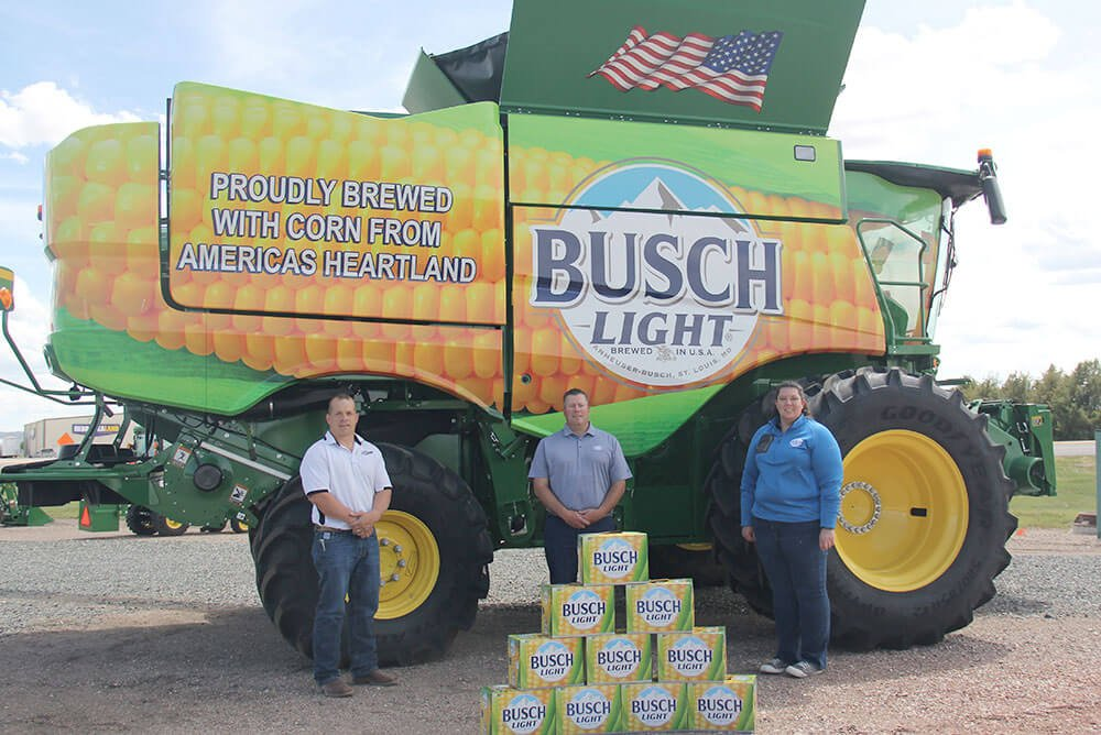 The partnership between Farm Rescue and Busch is highlighted with the release of their special-edition Busch Light Corn Cans, a remixed edition of the classic Busch Light can and packaging