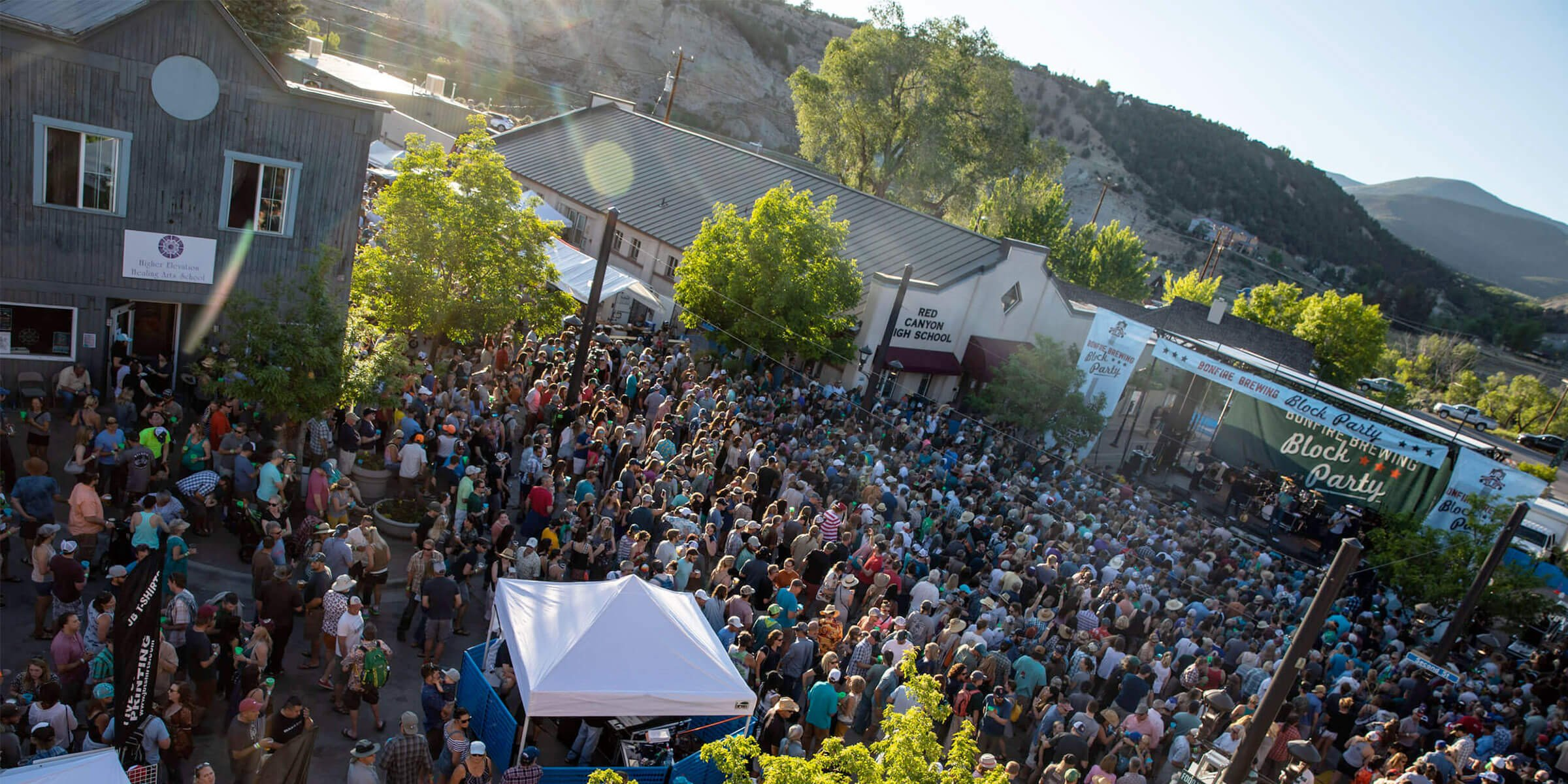 Due to the coronavirus, Bonfire Brewing and Optimum Events announced that the 2020 Bonfire Block Party will be postponed to the last weekend in August.