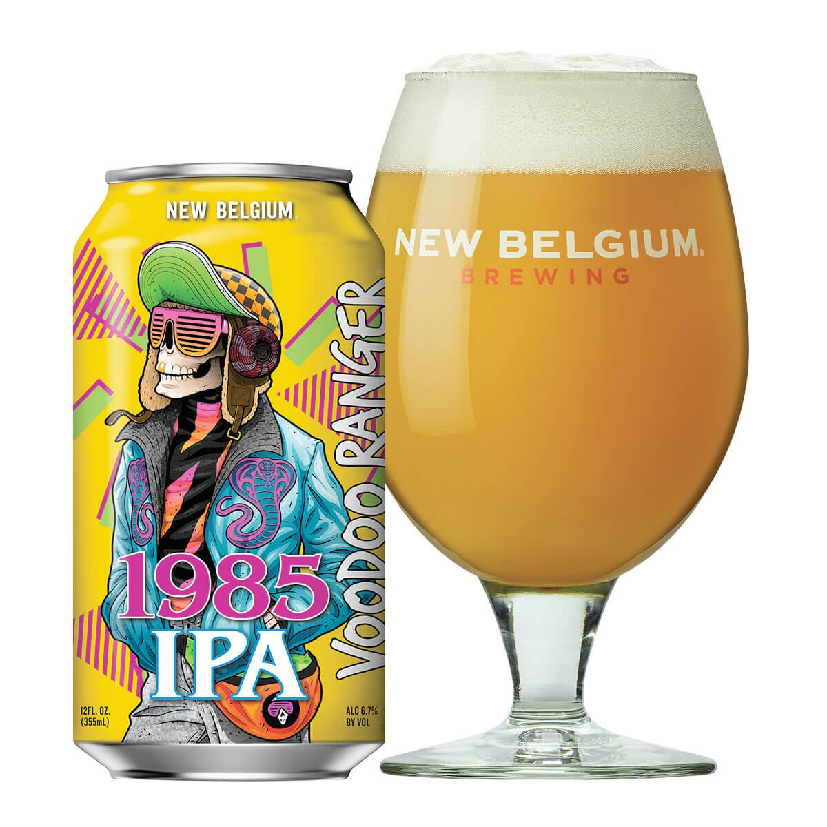 New Belgium Brewing Company released the Voodoo Ranger 1985 IPA that's hazy like the mid-80s were for most of us and loaded with juicy mango freshness.