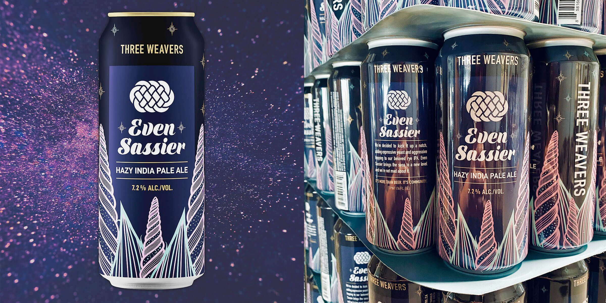 Three Weavers Brewing Company announced the reinvention of one of their favorite seasonal beers: Return of Sassy has become Even Sassier in 2020.
