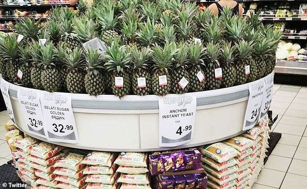 Some supermarkets have even started selling pineapples, sugar and yeast as a set