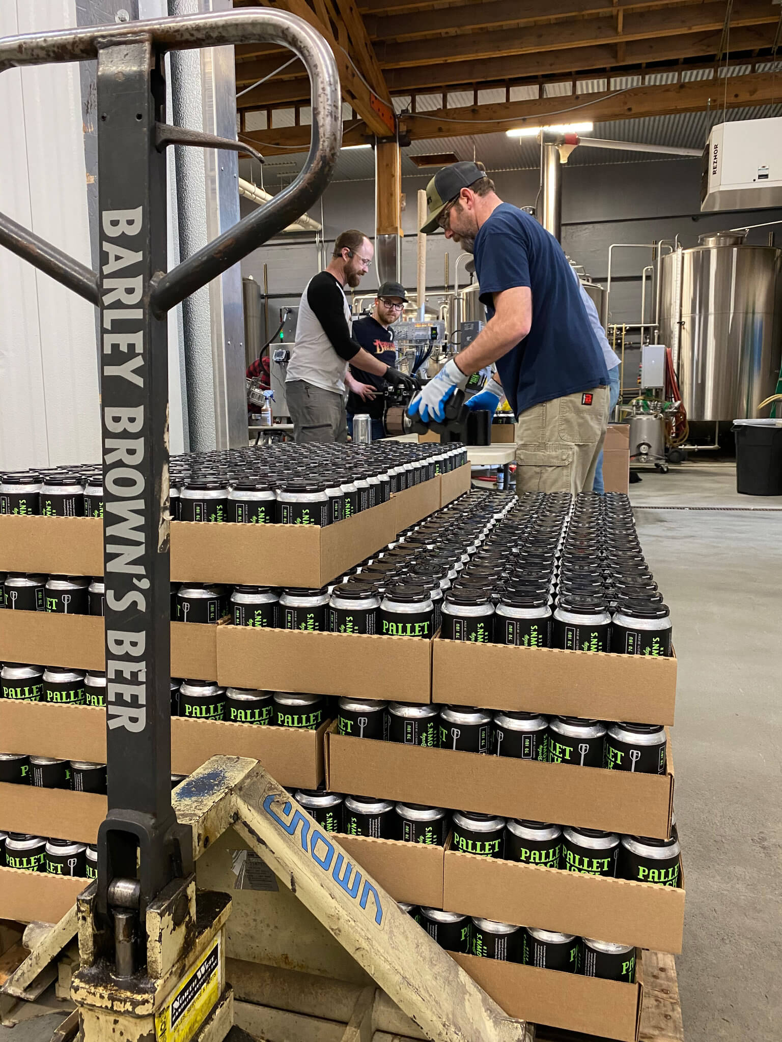 After bars and restaurants closed across Oregon in March, Barley Brown's Beer, in Baker City, decided to can its beer for the first time in its nearly 22-year history.