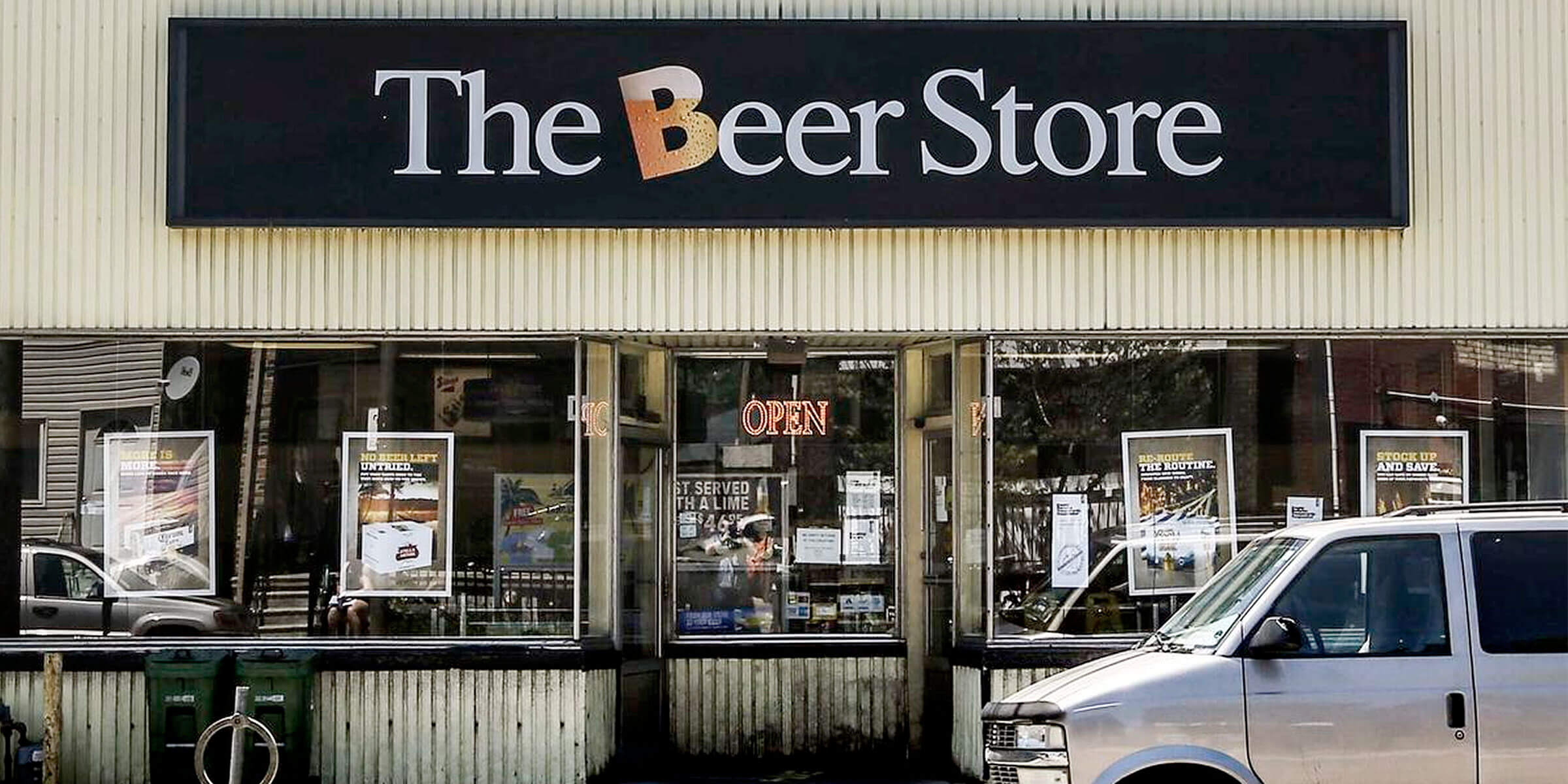 Under growing competition from grocery stores and corner store beers, The Beer Store suffered a $46.5 million operating loss last year.