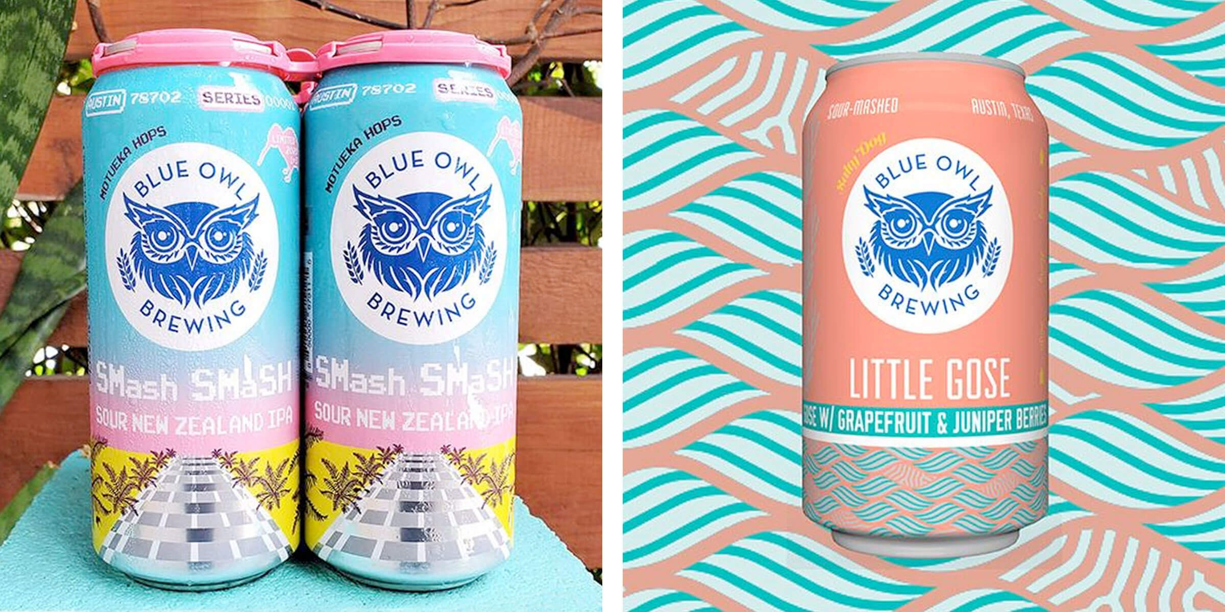 Blue Owl Brewing announced a pair of beer releases coming later this month: SMash SMaSH Third Edition: New Zealand Sour IPA and Little Gose Salty Dog.