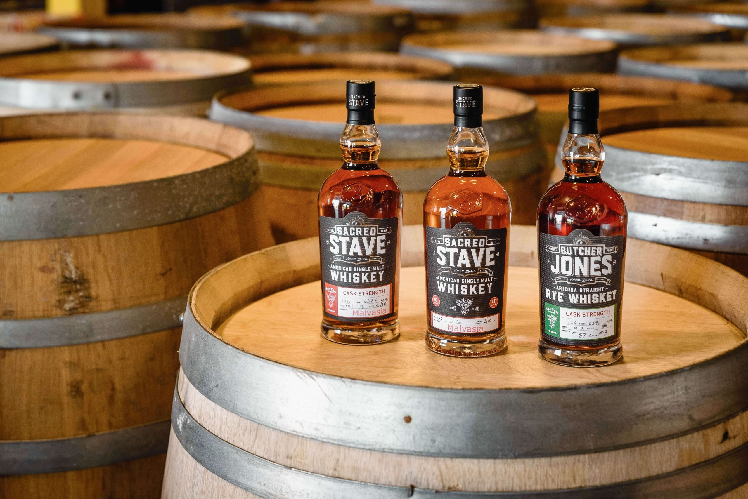 SanTan Spirits, now the largest distillery in Arizona, will see wider distribution through Crescent Crown Distributing.