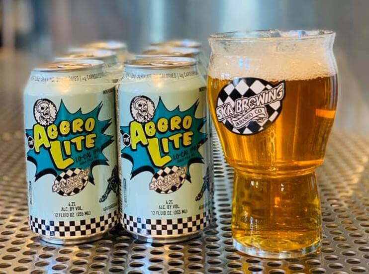 Ska Brewing's latest canned offering, the low-calorie, low-carb Aggrolite IPA, is a delicious sidekick for athletes and adventurists.
