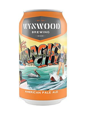 Label art for the Magic City by Wynwood Brewing Company
