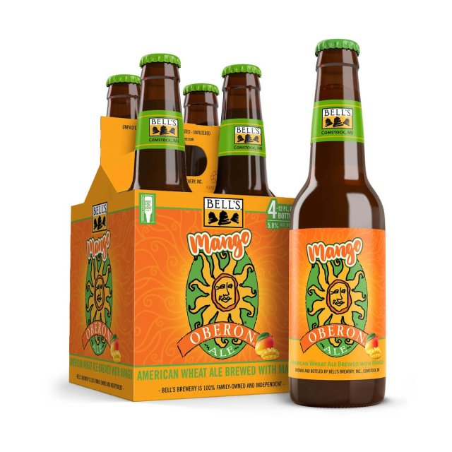 Bell's Brewery, Inc. will release Mango Oberon, an American Wheat Ale brewed with real fruit, in mid-July. It's the first Oberon variant to be distributed widely.