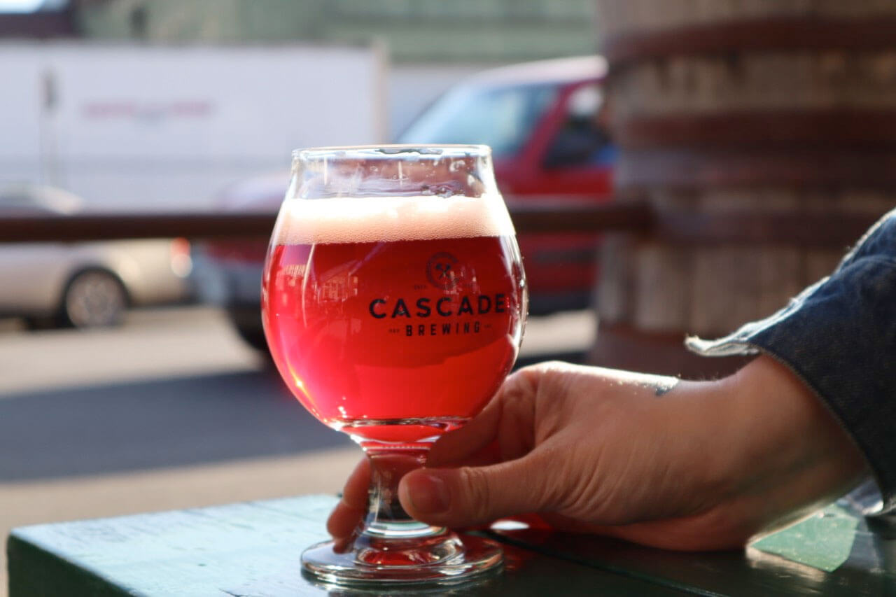 The Native Bramble 2019 sour blond ale from Cascade Brewing will be released on draft only