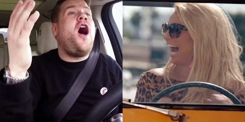 """Britney Spears is set for """"Carpool Karaoke""""!!!!!"""
