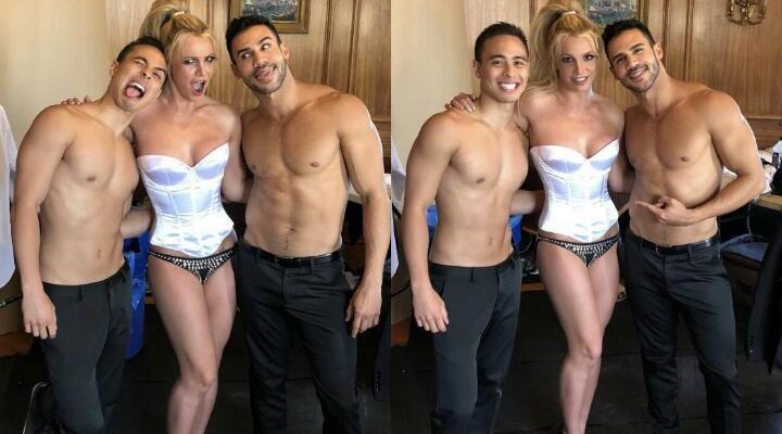 Britney Spears, Lake Smits, Willie Gomez