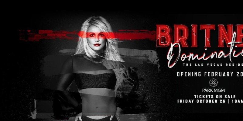 "Britney Spears just announced her new Las Vegas residency ""Britney Domination""!"