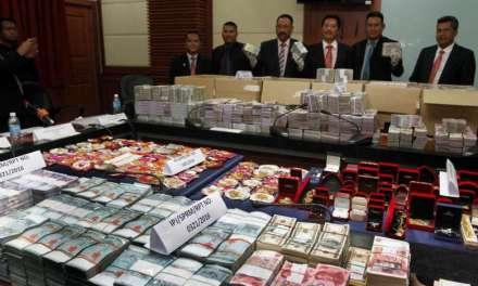 Malaysia: Anti-corruption officers seize $13 million in cash