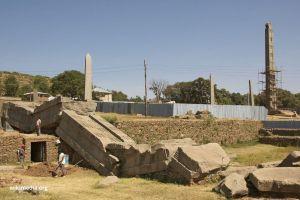 Aksum Ethiopia park relics of old stones.  Unique Ethiopia Destinations that Deserve to be on Your Bucket List. Absolute Ethiopia