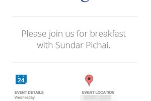 Google's invite for July 24 event