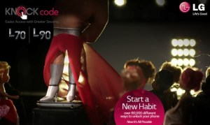 LG Knock Code Fashionista