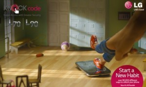 LG knock code Dancer