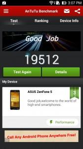Asus Zenfone 5 benchmark score antutu