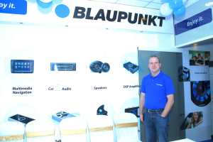 Dr Lars Placke,CEO, BLAUPUNKT, in Kochi shop