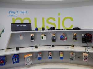 Music section in Univercell Sync