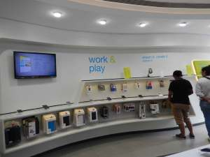 Work & play section in Univercell Sync