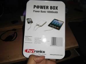 Portronics Power Box Specs (10,000mAh Power Bank)