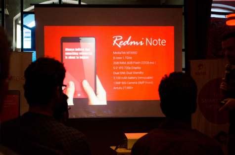 Xiaomi Redmi note Antutu