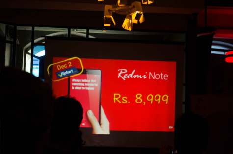 Xiaomi Redmi Note launch  in Mumbai