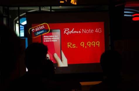 Xiaomi Redmi Note 4G launch in Mumbai