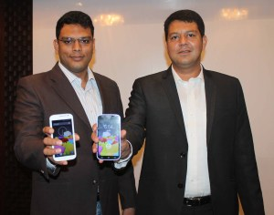 Mr. Vidmay Naini, Director & Business Head, eBay India with Mr. Rohit Ghai