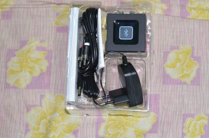 Logitech Bluetooth Audio Adapter (Box Content)