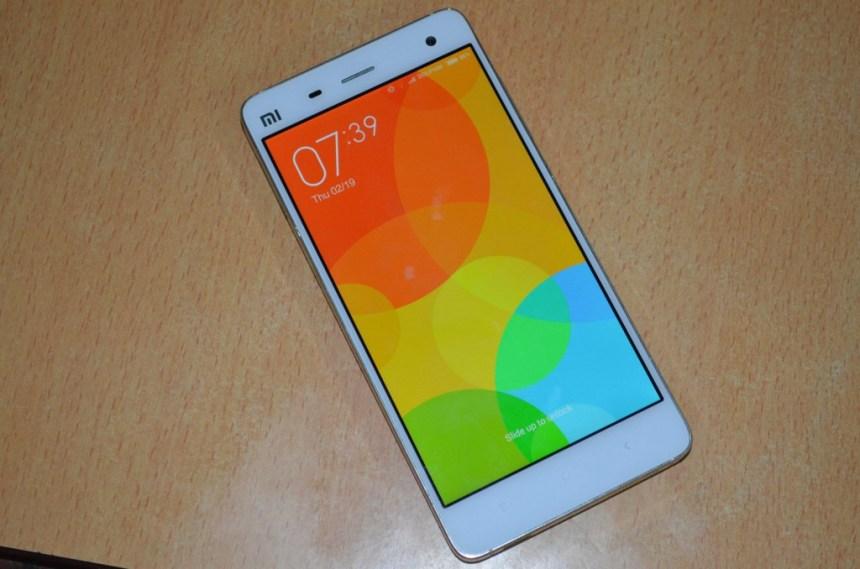 Xiaomi Mi 4 Front
