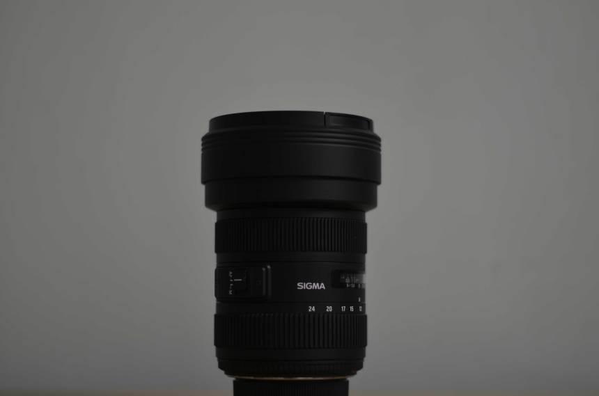 Sigma 12-24mm f/4.5-5.6 DG HSM II Wide Angle Lens