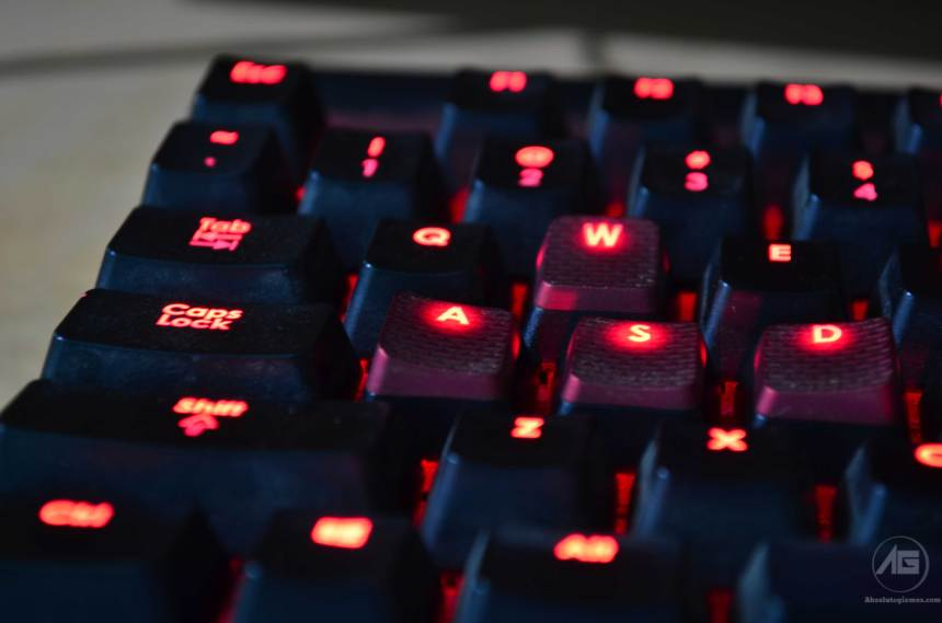 Corsair K70 Red Backlit with special red keys